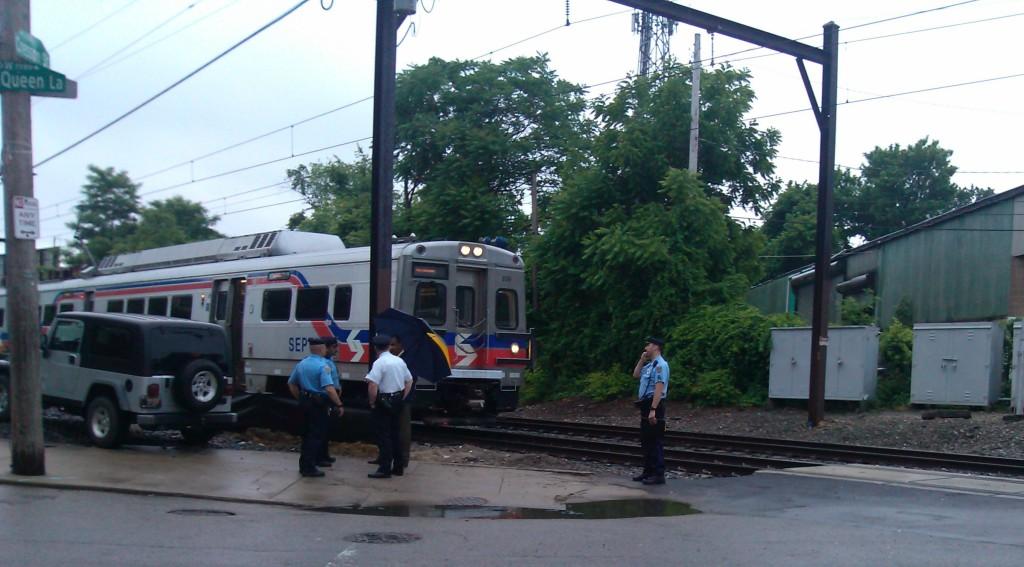 Septa Train accident  6 9 14