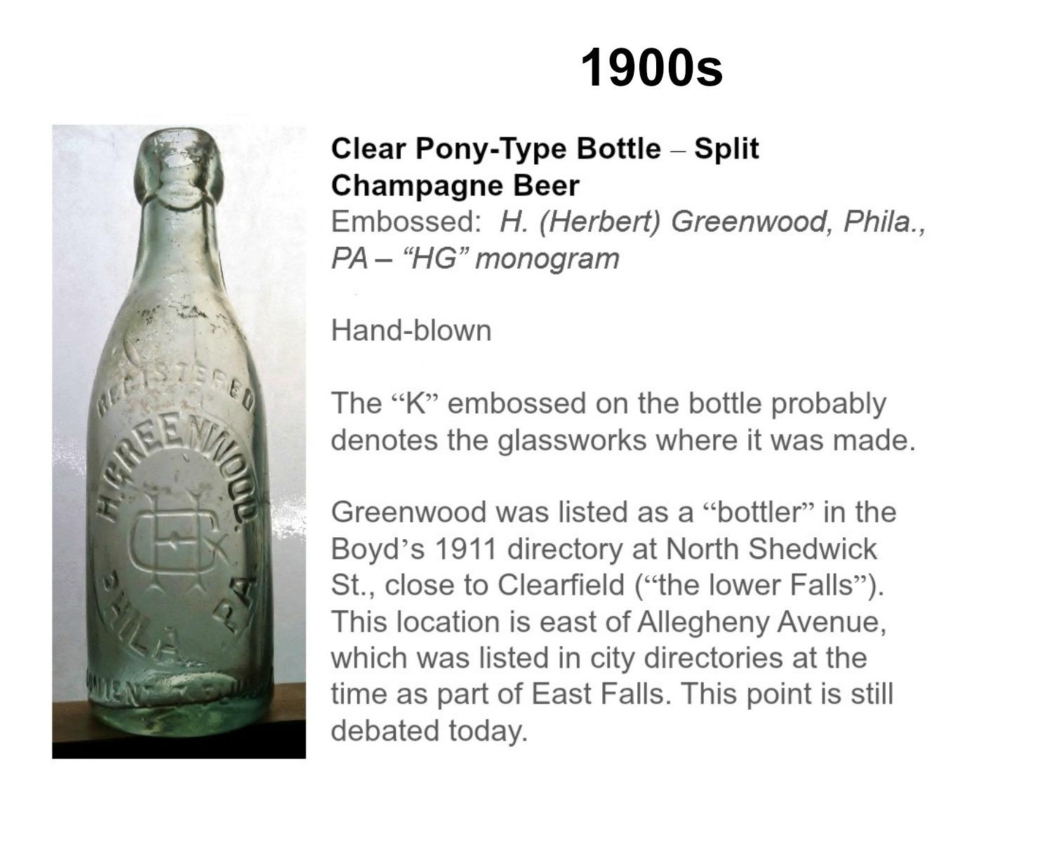 Greenwood pony split champagneII